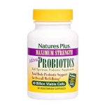 Nature's Plus, Ultra Probiotics, 40 Billion Viable Cells