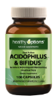 Healthy Options Acidophilus/Bifidus 1 Billion 100 Capsules