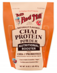Bob's Red Mill Chai Protein Powder Nutritional Booster 16oz
