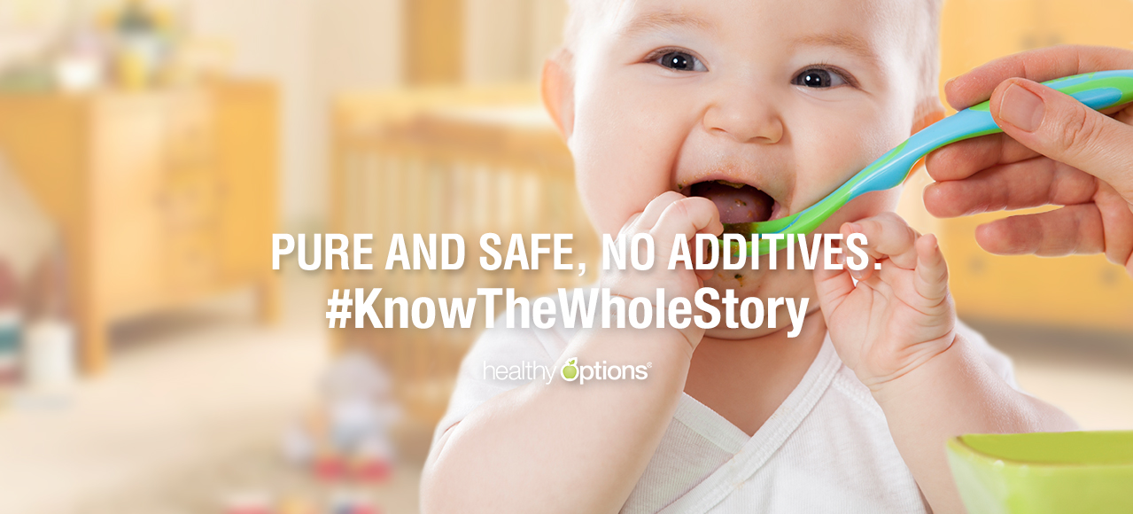 Pure and Safe, No Additives.. #KnowTheWholeStory