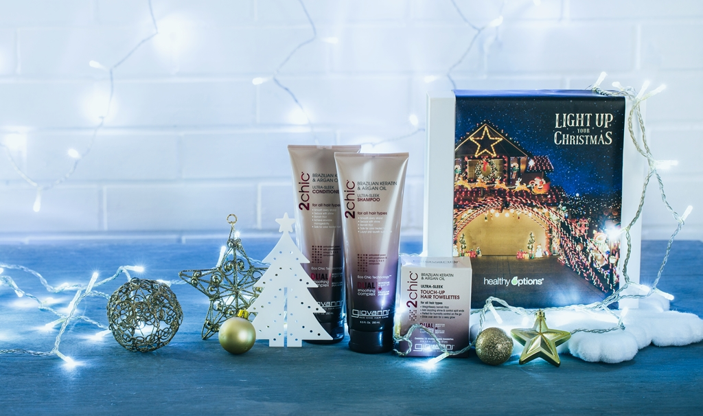 hair care gift set for holidays
