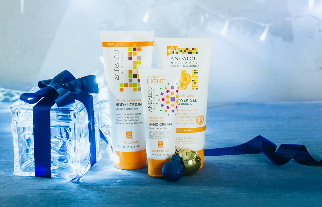 body care gift set for christmas