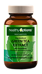 healthy options green tea extract