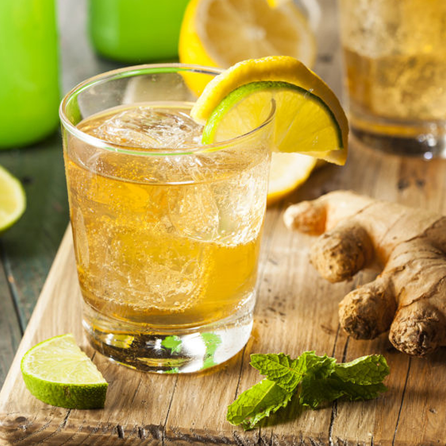 Schwanger Ginger Ale