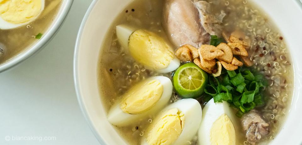 How To Cook Oatmeal Arroz Caldo